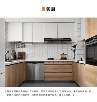 140平米三北欧风格厨房图