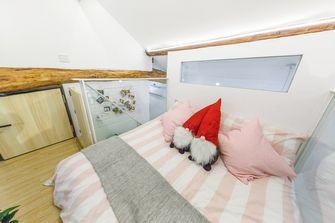 80平米三室两厅日式风格儿童房设计图
