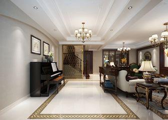 140平米别墅英伦风格走廊设计图