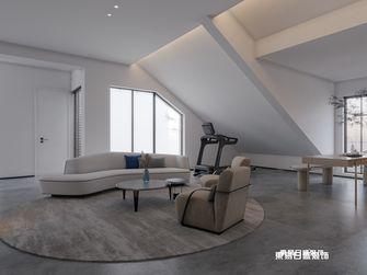 140平米四室三厅现代简约风格阁楼图片大全