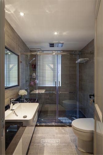 120平米三室两厅美式风格卫生间浴室柜效果图