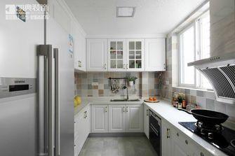 120平米三室两厅田园风格厨房壁纸图