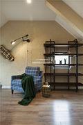 140平米别墅法式风格阁楼装修案例