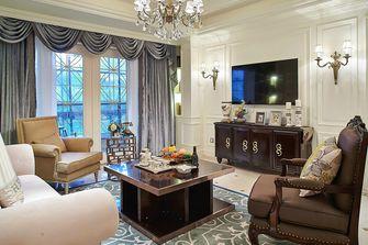 70平米一居室美式风格客厅设计图