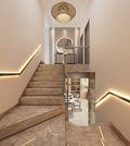 140平米三室三厅其他风格楼梯间装修图片大全