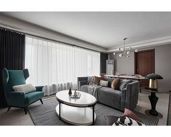 130平米四室两厅混搭风格客厅装修效果图