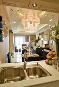 5-10万130平米四室两厅现代简约风格厨房图