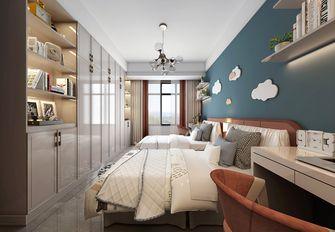 90平米三室两厅中式风格儿童房装修效果图
