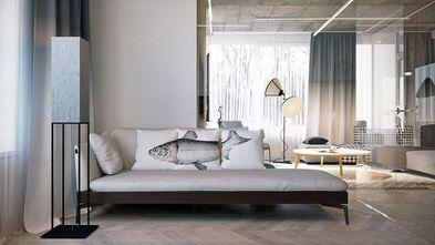 90平米现代简约风格客厅图片大全