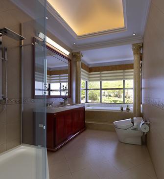 140平米四室两厅欧式风格卫生间图