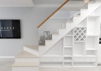 60平米一室一厅北欧风格楼梯间装修案例