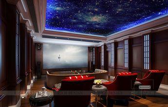 120平米别墅欧式风格影音室图片大全