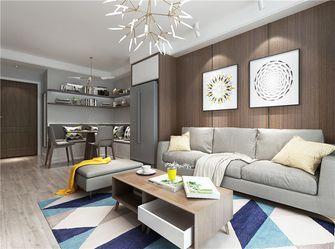 经济型80平米现代简约风格客厅图片