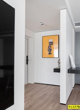 140平米三室一厅现代简约风格玄关装修案例