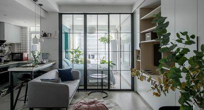 40平米小户型北欧风格客厅装修案例