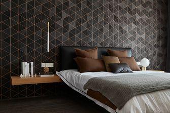 140平米三室两厅混搭风格卧室装修案例
