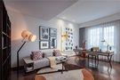 140平米公寓中式风格儿童房设计图
