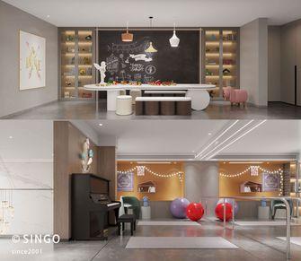 140平米复式现代简约风格阁楼装修效果图