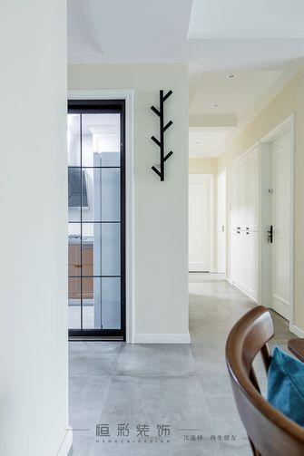 80平米三室一厅现代简约风格玄关装修案例