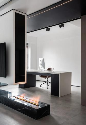 130平米现代简约风格书房装修案例