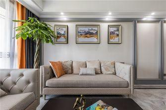 100平米三室三厅混搭风格客厅图片大全