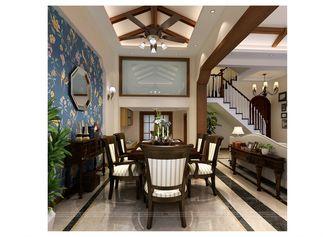 140平米别墅中式风格餐厅壁纸设计图