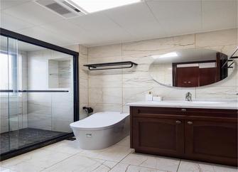 110平米三室两厅中式风格卫生间图片