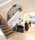 富裕型140平米复式地中海风格楼梯设计图