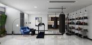 100平米别墅现代简约风格健身室设计图