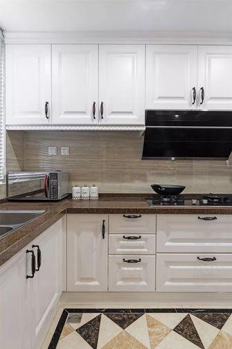 90平米三室一厅美式风格厨房装修效果图