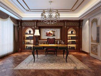 140平米别墅欧式风格书房装修案例