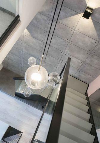 80平米北欧风格楼梯间图