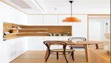 80平米田园风格餐厅图片