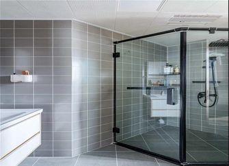 90平米日式风格卫生间设计图