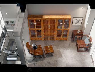140平米复式美式风格书房图片