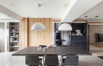 140平米三室一厅日式风格餐厅设计图