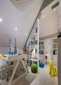 130平米三室两厅田园风格阁楼图片大全