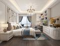140平米三室两厅新古典风格卧室效果图