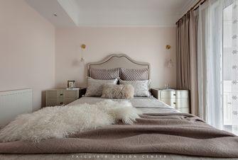 100平米三室两厅法式风格卧室装修案例