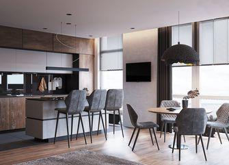 70平米现代简约风格餐厅设计图
