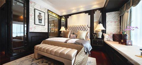 140平米四室四厅混搭风格卧室图片大全
