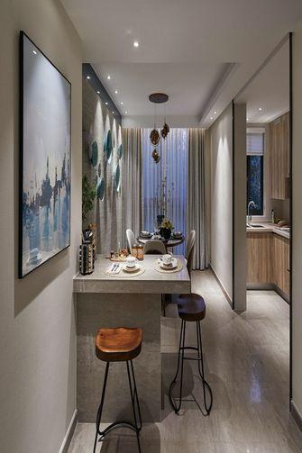 130平米三室两厅新古典风格餐厅装修图片大全
