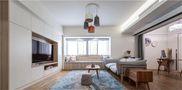 140平米三室一厅宜家风格客厅装修案例