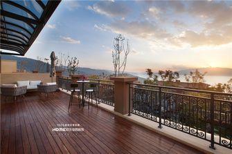 140平米复式混搭风格阳台装修效果图