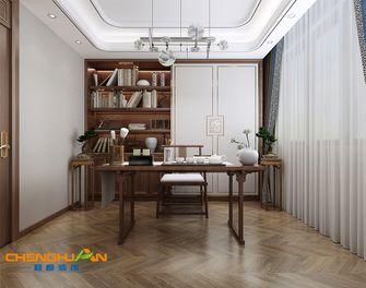 140平米四中式风格书房装修图片大全