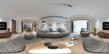 140平米三室两厅日式风格客厅欣赏图