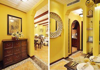 130平米三室两厅田园风格玄关图片