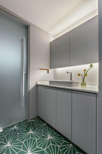 80平米三室两厅北欧风格卫生间装修案例