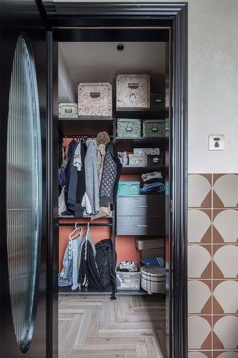 120平米三室两厅混搭风格衣帽间图