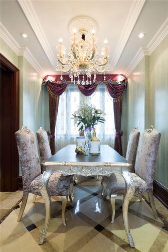 70平米公寓法式风格餐厅图片